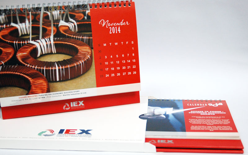 Creative chord designs Gallery Indian Energy Exchange Calendar Design Multiple pages
