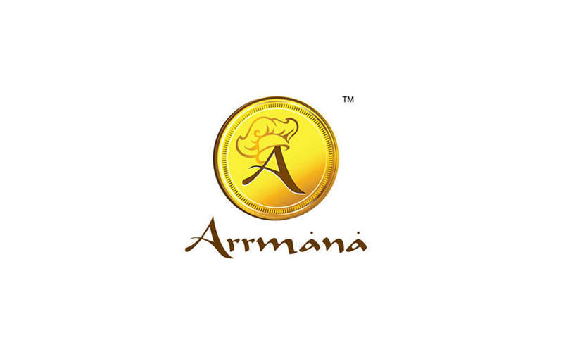 Creative chord designs Gallrey Arrmana Logo Typography